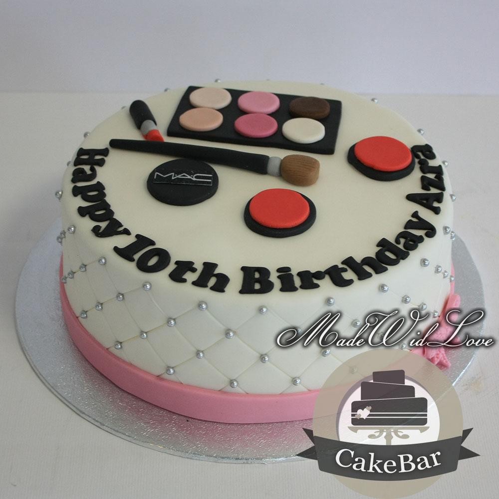 make up taart Make up Taart 1 | madewidlove.nl make up taart